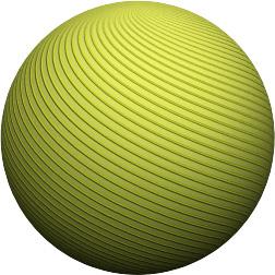 Геометрическая фигура - шар.